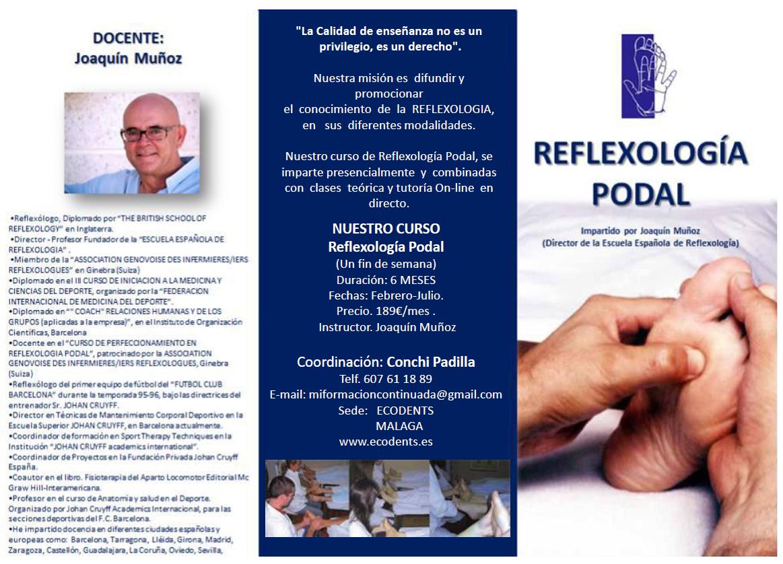 Curso de Reflexiología Podal