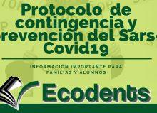 Protocolo Covid Ecodent´s